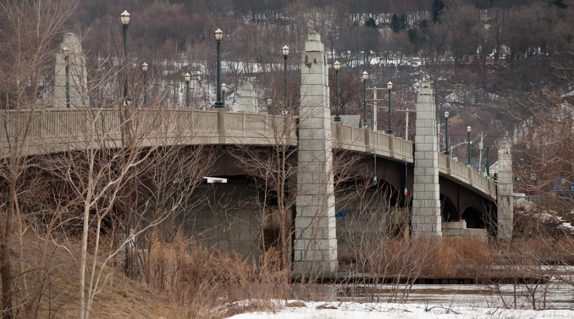 112th Street Over Hudson River Albany/Rensselaer Counties